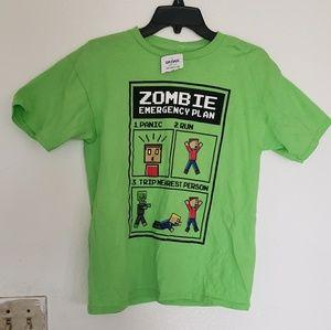Gilban zombie emergency plan 2xl kids size